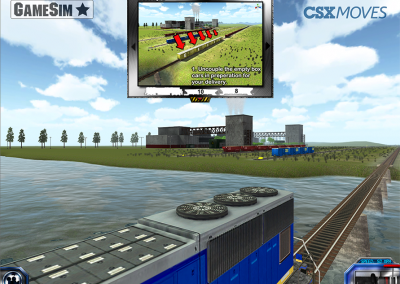 Player instructions for railway coupling