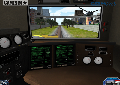 Locomotive Engineer View