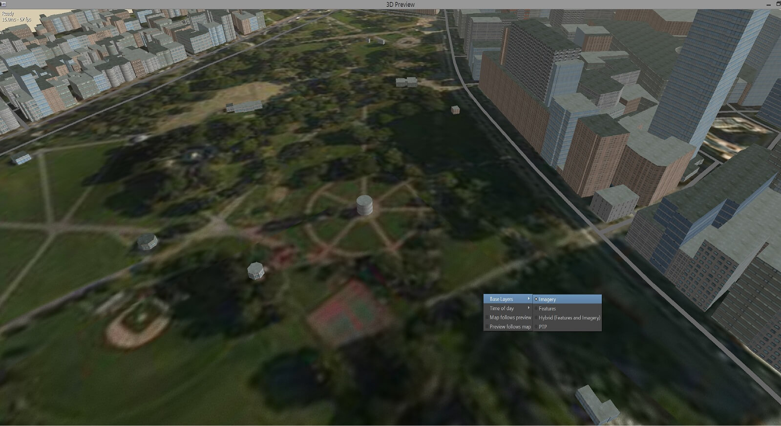 Conform Ground Texturing from Imagery