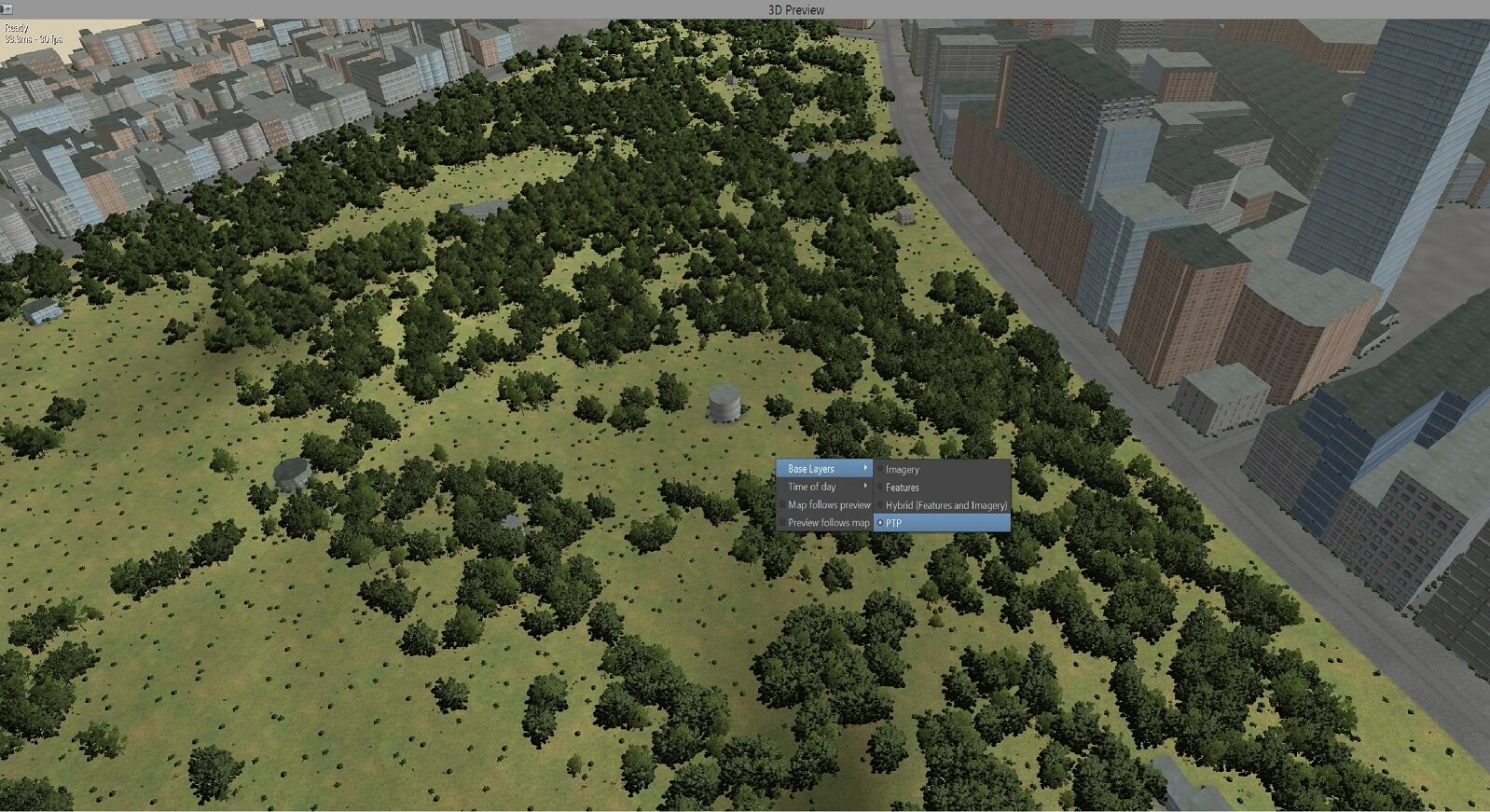 Conform Procedural Ground Texturing from Land Usage Coverage Definitions